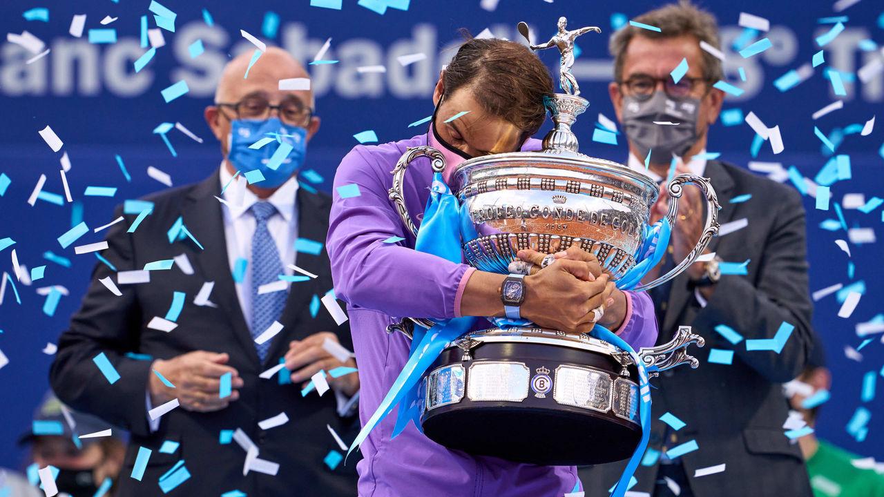 Rafael Nadal ने जीता बार्सिलोना ओपन, खिताबी भिड़ंत में Tsitsipas को दी शिकस्त
