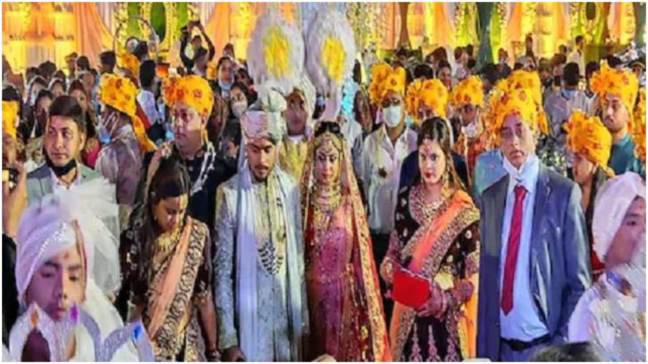 Bihar : BJP विधायक के बेटे की शादी में उड़ी कोरोना गाइडलाइंस की धज्जियां, नाईट कर्फ़्यू के बावजूद भी देर रात चला जश्न