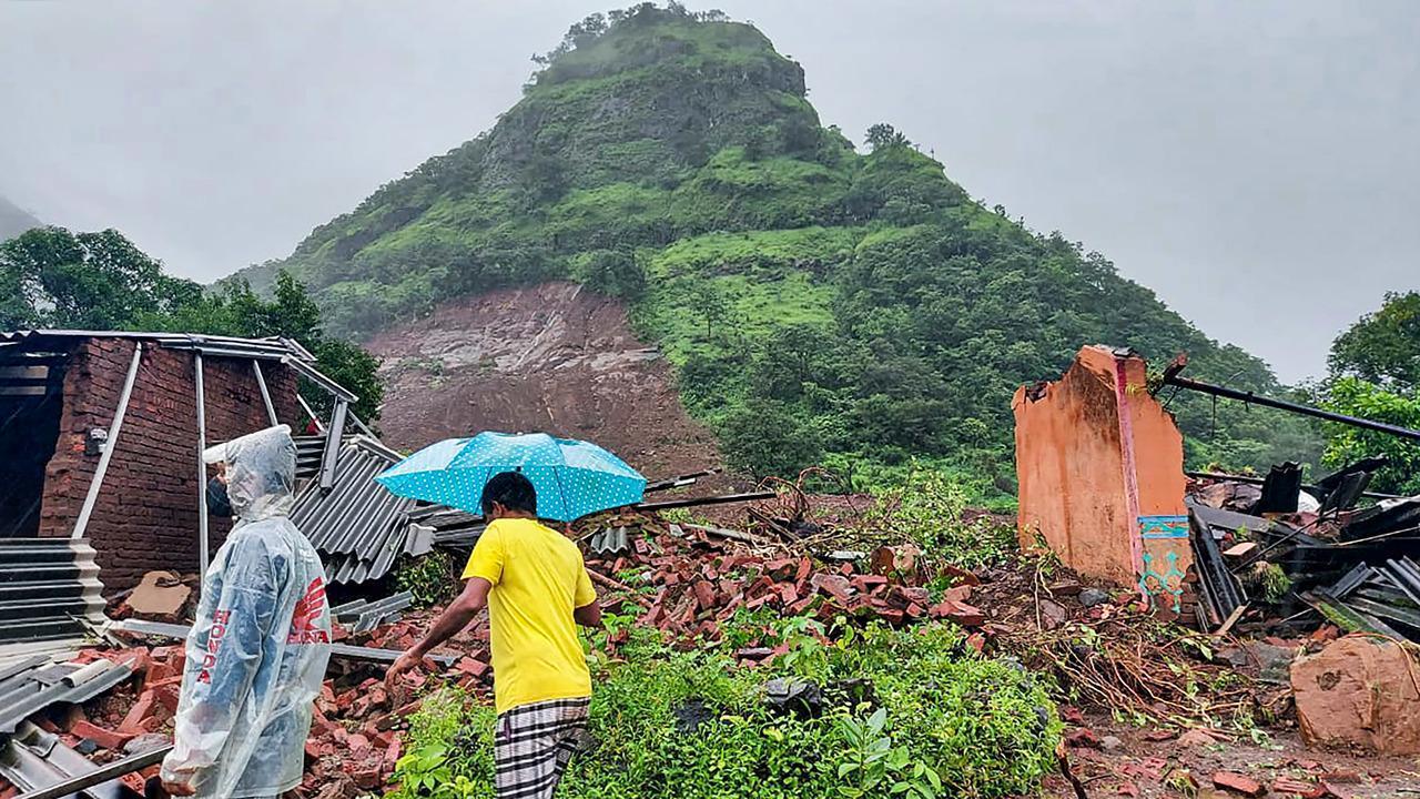 महाराष्ट्र में भूस्खलन की घटनाओं के बाद 89 शव बरामद, 34 लोग लापता: एनडीआरएफ